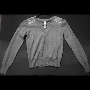 Girls Cherokee button up dress sweater(10-12)